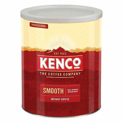 Kenco Professional Smooth Instant Coffee 750g Well-Rounded Medium Roast