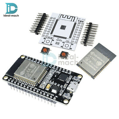 ESP8266 ESP-WROOM-32 ESP32 ESP32S To Wifi Wlan BLE WiFi Module+Adapter Board