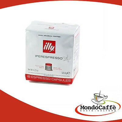 108 Capsule Caffe  Iperespresso Illy Icn Rosso