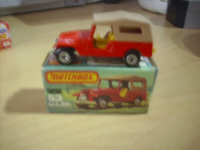 MATCHBOX SUPERFAST No.53 CJ-6 Jeep
