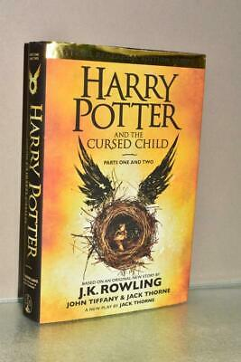HARRY POTTER AND THE CURSED CHILD Parts 1 & 2 SCRIPTS HARD BACK BOOK