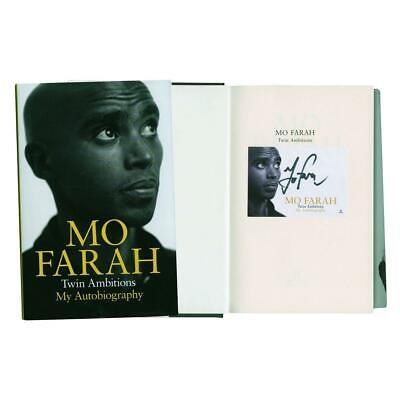 Mo Farah Signed Autobiography 'Twin Ambitions'