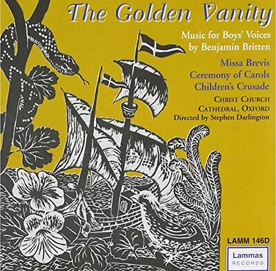 The Golden Vanity -  CD DTVG The Fast Free Shipping