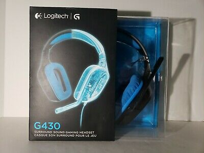 fb266a33260 Logitech G430 Gaming Headset with Dolby 7.1 Surround Sound - NEW, UNOPENED