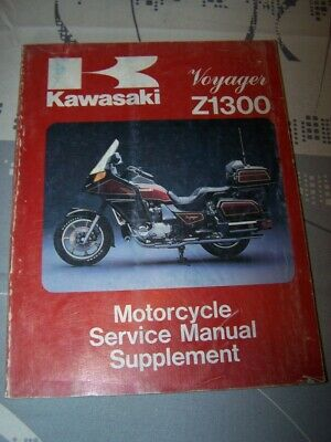 KA Workshop service Manual Kawasaki Motorcycle Supplement Voyager Z1300