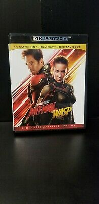 Antman And The Wasp 4K Ultra Hd & Bluray