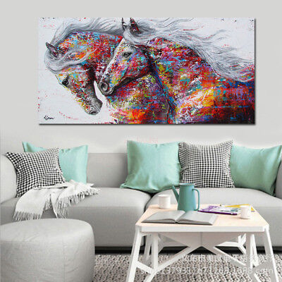 Stylish Animal Figure Abstract Wall Art Oil Painting Canvas Painted Poster NEW A