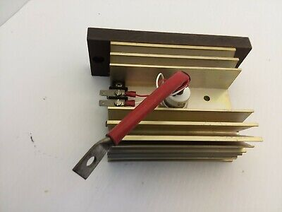 """Alluminum Heat Sink 5""""X4"""" By 2-1/4"""" With Diode 2505M-V7 Nnb"""