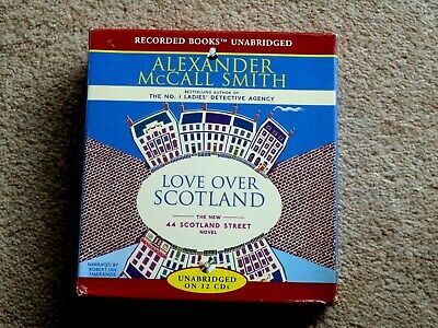 ALEXANDER McCALL SMITH -  LOVE OVER SCOTLAND  -    AUDIO BOOKS -  - ( 12 CDS  )