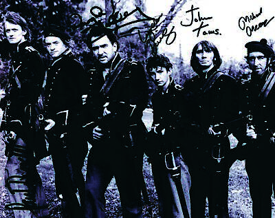 Sharpe Cast x 6 -  Autographs - Signed Black and White Photograph