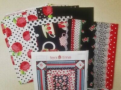 Tea Time Room Quilt Kit by Michael Miller Fabrics + Backing Fabric