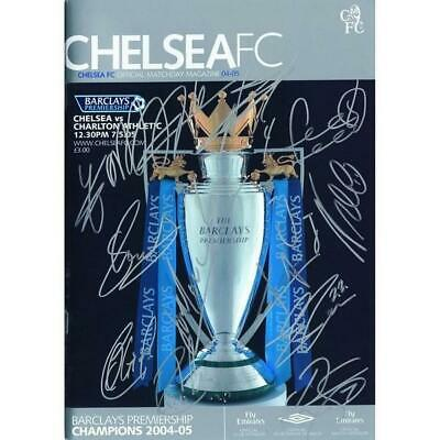 Chelsea 2004/2005 - Autograph - Signed Programme - Signed Match Day Magazine