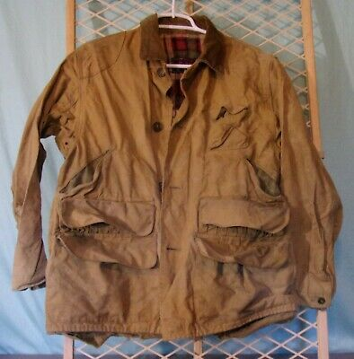 9742240a77f42 Red Head Brand Duck Bird Hunting Jacket Game Pocket L Vintage Shooting  Redhead