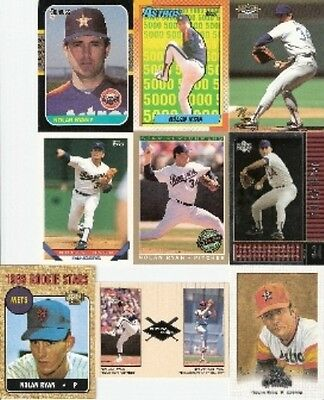 1987 87 Topps Nolan Ryan Lot Texas Rangers Houston Astros New York Mets