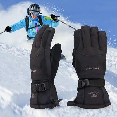 New Women Warm Waterproof Fingers Ski Gloves Ladies Winter Snow Mittens M L Size
