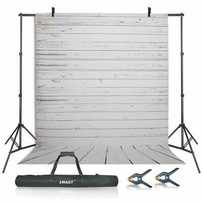 Photography Studio Backdrop Background Kit 10Ft Adjustable Stand Support System