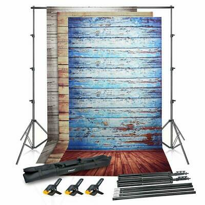 Photo Video Studio Backdrop Stand Kit 8.5 X 10Ft Adjustable Photography New