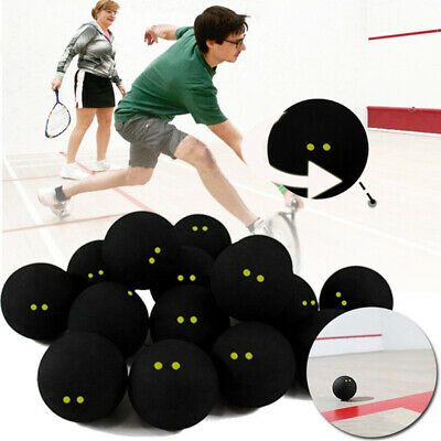 Professional Player Competition Squash Ball Two Dots Low Speed Accessory Safe