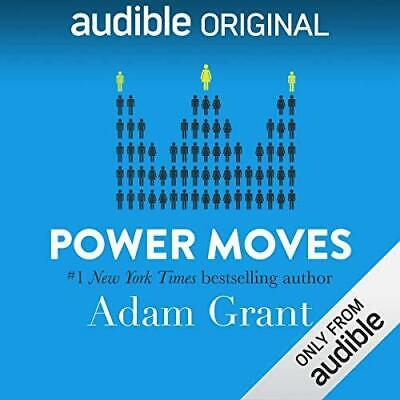 Power Moves Lessons from Davos By Adam Grant (audiobook, Fast e-Delivery)