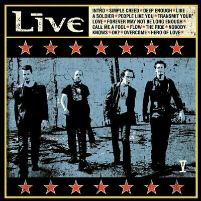 Live - V - Live CD KGVG The Cheap Fast Free Post
