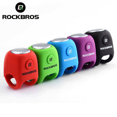 Electric Bike Horn Clear Loud Sound Alarm Ring Bells Silica Safety MTB Cycling
