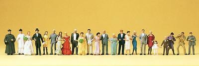 Preiser 10339 Bride Groom /& Guests HO Gauge Figures