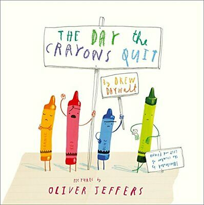 The Day The Crayons Quit by Drew Daywalt NEW Paperback Book