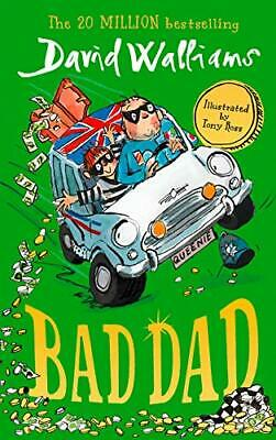 Bad Dad by David Walliams NEW Paperback Book