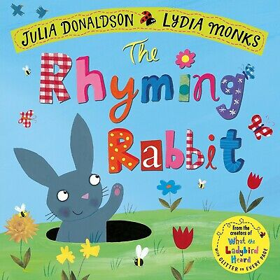 The Rhyming Rabbit by Julia Donaldson NEW Paperback Book