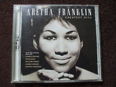 Aretha Franklin Greatest Hits.Double CD.41 Classic Tracks From The Queen Of Soul