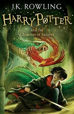 Harry Potter and the Chamber of Secrets by J.K. Rowling NEW Paperback Book