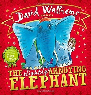 The Slightly Annoying Elephant by David Walliams NEW Paperback Book