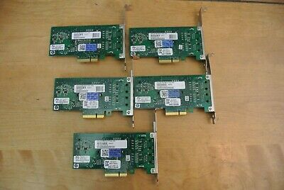 LOT OF 2 EXPI9402PTBLK Intel PRO/1000 Pt dual port pcie