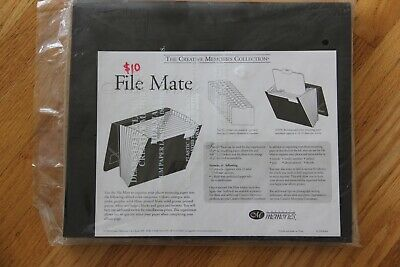 CREATIVE MEMORIES Accordian Style File Mate 11x13 for Photos or papers