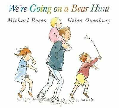 We're Going on a Bear Hunt by Michael Rosen NEW Paperback Book