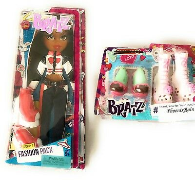 Bratz Fashion Pack - Sporty Doll Clothes Full Outfit + 2 shoes