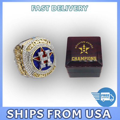 FROM USA -Houston Astros 2017 Ring MLB World Series Championship Official Design