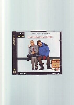 PLANES, TRAINS AND AUTOMOBILES - FILM MOVIE VIDEO CD CDi CD-i VCD - COMPLETE VGC
