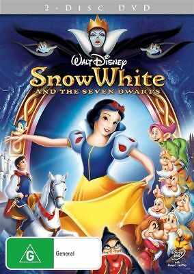 Disney Snow White And The Seven Dwarfs (2 DVD 2012)