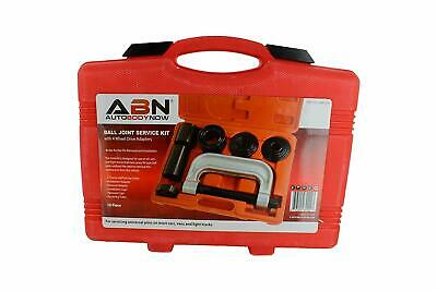 ABN Ball Joint Press 10pc Set – Ball Joint Tool, Bushing Removal Tool Kit