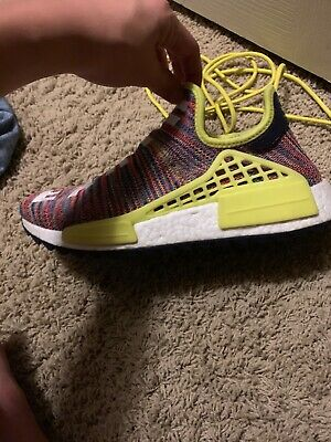 a44bc7053f039 Adidas PW Human Race Nmd TR Size 8.5 Multi Color Body And Earth 100%  Authentic
