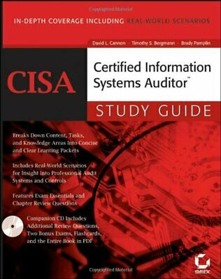 CISA: Certified Information Systems Auditor Study Guide By David L. Cannon, Tim