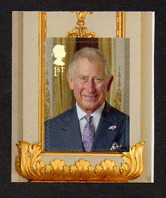 2016 SG 3833 1st NVI Prince Charles SA ex Queen's 90th Comm Bklet No 1 PM50