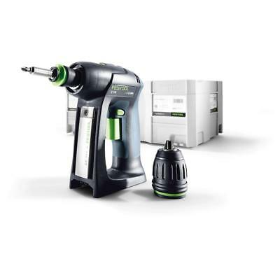 Festool Perceuse Batterie C 18 Li-Basic, 574737