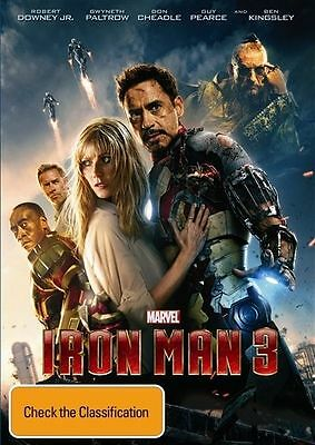Iron Man 3 (DVD 2013)