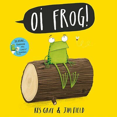 Oi Frog! by Kes Gray NEW Paperback Book