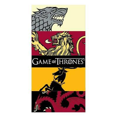 Game of Thrones Sigil Beach Towel Lannister Stark Summer Holiday Gift