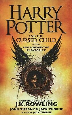 Harry Potter and the Cursed Child Parts 1&2 by J.K. Rowling NEW Paperback Book