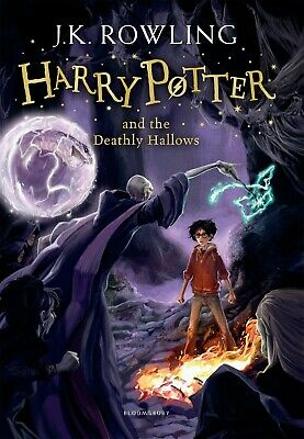 Harry Potter and the Deathly Hallows: 7/7 by J.K. Rowling NEW Paperback Book