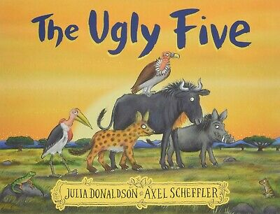 The Ugly Five by Julia Donaldson NEW Paperback Book